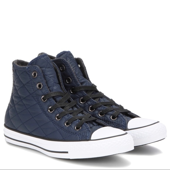 27b6e94946ed Converse Shoes - CONVERSE • Chuck Taylor • All Star Quilted Hi Tops